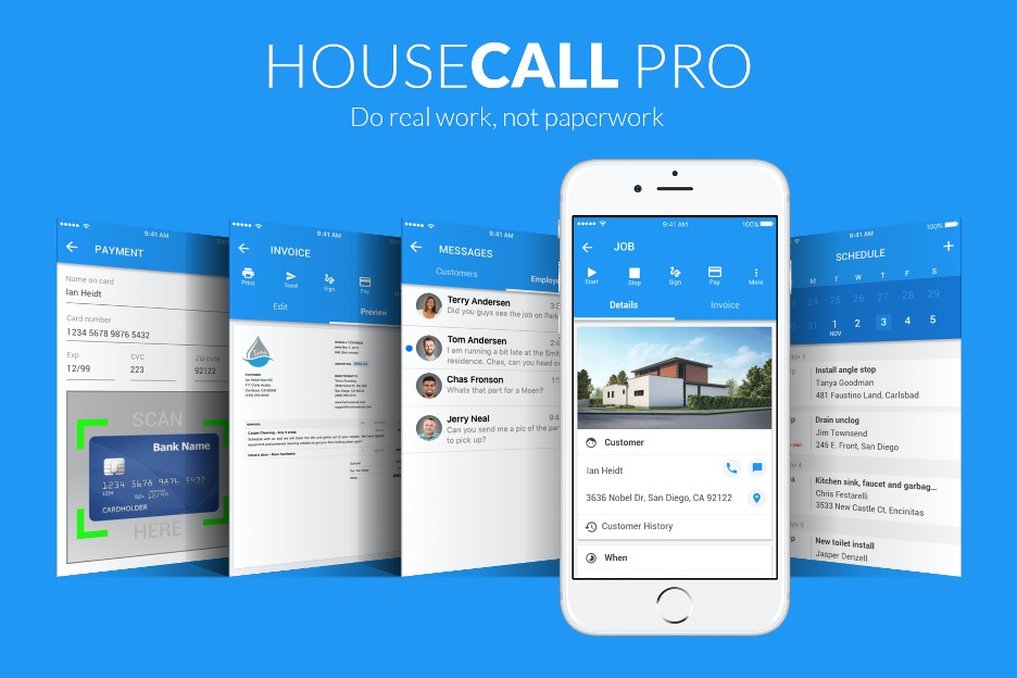 House Call Pro Software Services. Field service software solutions.
